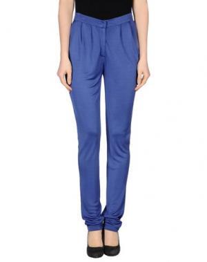 Повседневные брюки GATTINONI. Цвет: синий