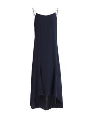 Платье до колена CHARLI. Цвет: темно-синий