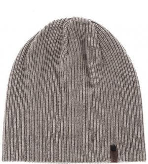 Серая шерстяная шапка Capo. Цвет: серый