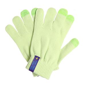 Перчатки  Touch Gloves Green TrueSpin. Цвет: зеленый