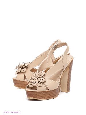 Босоножки Felina shoes. Цвет: бежевый
