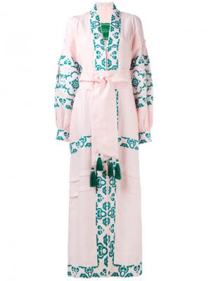 Платье Spell Yuliya Magdych. Цвет: розовый и фиолетовый