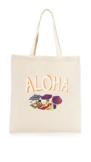 Объемная сумка с короткими ручками Aloha Zhuu