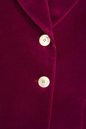 Бархатный жакет Gucci. Цвет: фиолетовый