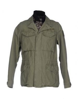 Куртка ROŸ ROGER'S. Цвет: зеленый-милитари