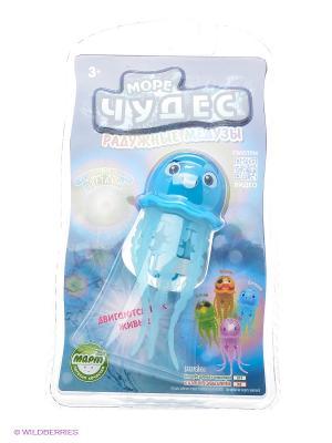 Радужная робо-медуза Джилли Море Чудес. Цвет: голубой