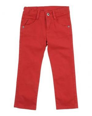 Повседневные брюки EDDIE PEN. Цвет: красный