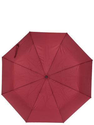 Зонт Labbra. Цвет: бордовый