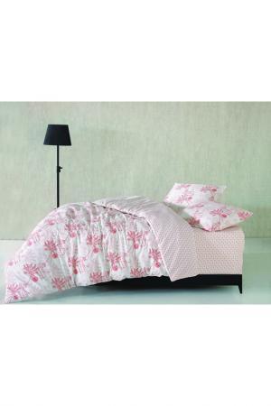 Комплект постельного белья Marie claire. Цвет: white and red