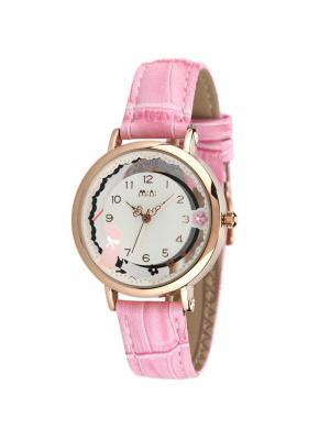 Наручные часы MN2060pink Mini.. Цвет: розовый, золотистый