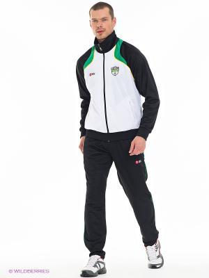 Спортивный Костюм RED-N-ROCK'S. Цвет: черный, белый, зеленый