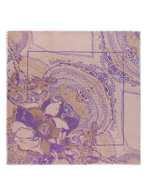 Платок Eleganzza. Цвет: хаки, фиолетовый