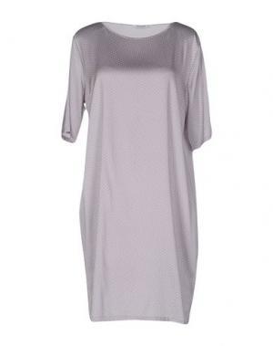 Короткое платье KANGRA CASHMERE. Цвет: светло-серый