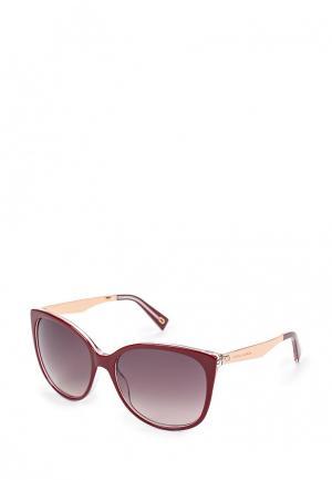 Очки солнцезащитные Marc Jacobs. Цвет: бордовый