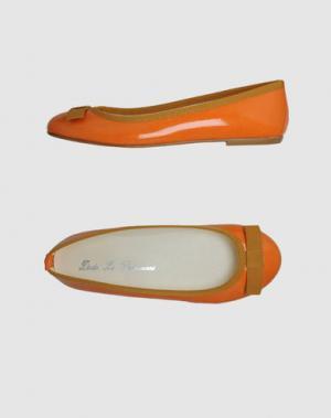 Балетки DODO' LE PARISIENNE. Цвет: оранжевый