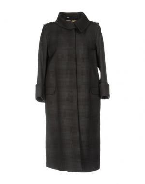 Легкое пальто 6267. Цвет: темно-коричневый