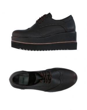 Обувь на шнурках POLICE 883. Цвет: темно-коричневый