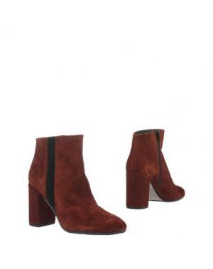 Полусапоги и высокие ботинки ANDREA MORELLI. Цвет: баклажанный
