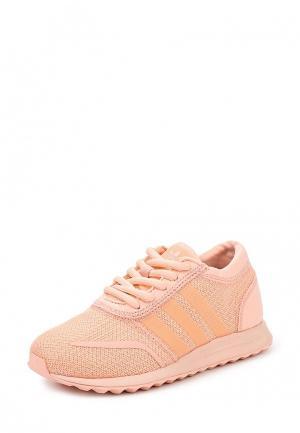 Кроссовки adidas Originals. Цвет: коралловый