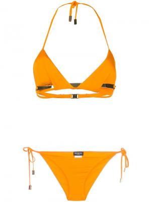 Купальник бикини Melanie Moeva. Цвет: жёлтый и оранжевый