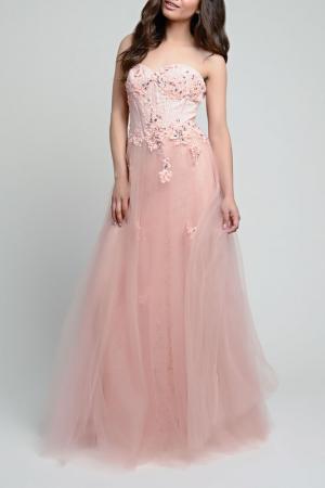 Dress YASMIN. Цвет: peach