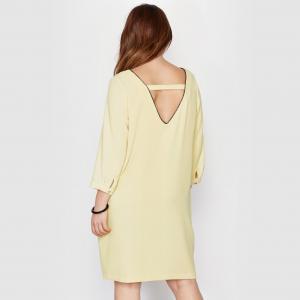 Платье TAILLISSIME. Цвет: желтый
