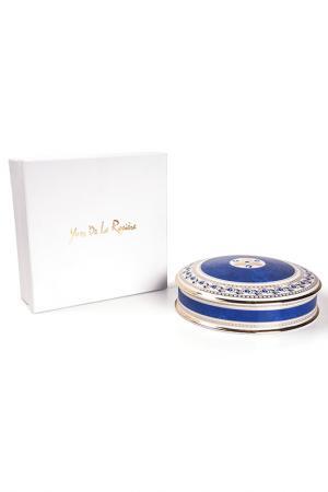 Шкатулка 20 см La Rose des Sables. Цвет: белый, синий