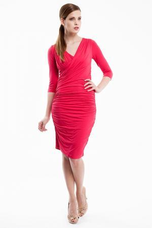 Платье Baukjen. Цвет: красный