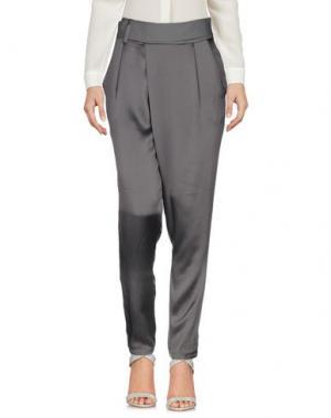 Повседневные брюки AMBRE BABZOE. Цвет: серый