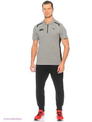Футболка-поло MAMGP Polo Puma. Цвет: серый