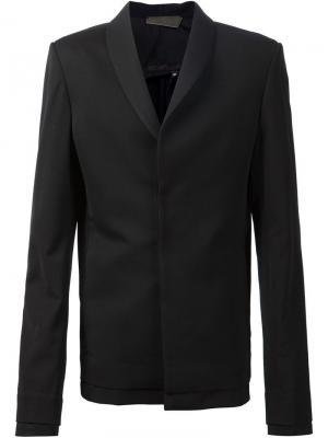 Пиджак с двойным подолом Ødd.. Цвет: чёрный