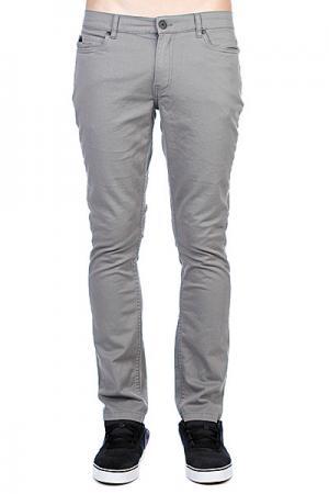 Джинсы мужские зауженные Джинс  Winslow Twill Pant Cement Grey Fallen. Цвет: серый