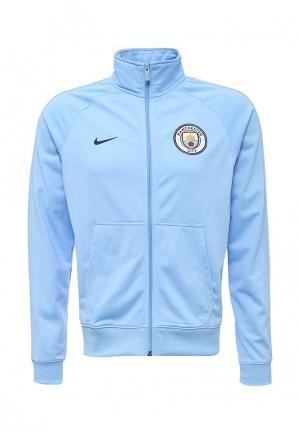Олимпийка Nike. Цвет: голубой