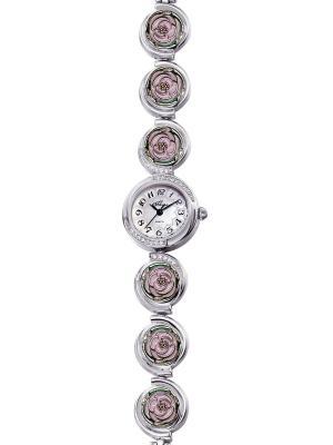 Часы Mikhail Moskvin. Цвет: светло-зеленый, бледно-розовый, серебристый