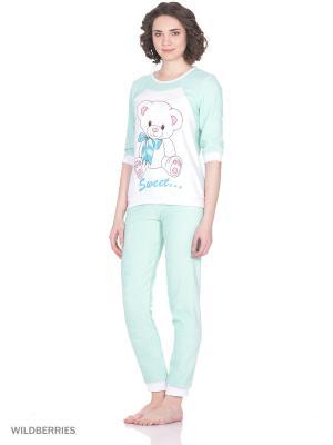 Пижама MARSOFINA. Цвет: светло-зеленый
