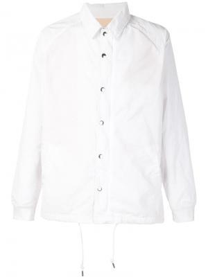 Куртка Coach 321. Цвет: белый
