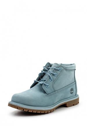 Ботинки Timberland. Цвет: голубой