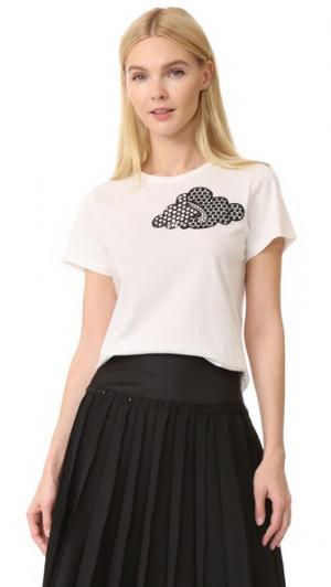 Классическая футболка Marc Jacobs. Цвет: золотой