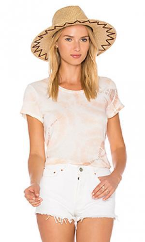 Классическая футболка frank LACAUSA. Цвет: оранжевый