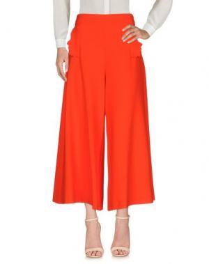 Повседневные брюки VIVETTA. Цвет: красный