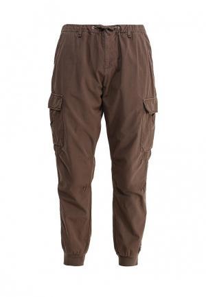 Брюки Trussardi Jeans. Цвет: коричневый