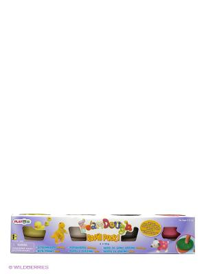 Набор пластилин 4 цвета MSN TOYS BICYCLE LIMITED 35104 цвет цветной. Цвет: фиолетовый