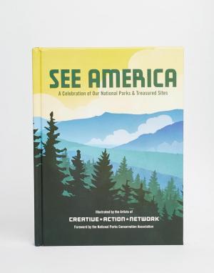 Books Книга-путеводитель See America. Цвет: мульти