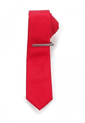 Галстук Burton Menswear London. Цвет: красный