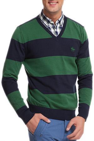 Пуловер U.S. Polo Assn.. Цвет: vr060 зеленый