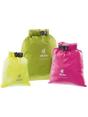 Упаковочный мешок Deuter 2016-17 Light Drypack 1 neon. Цвет: желтый