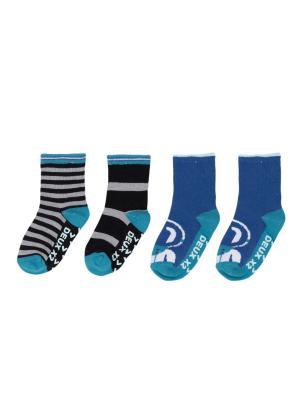 Носки для мальчика Deux par. Цвет: синий