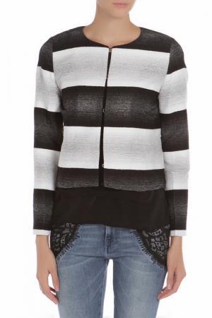 Пиджак iBLUES. Цвет: черный, белый