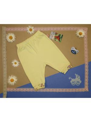 Ползунки-штанишки Рыжий Лис. Цвет: желтый