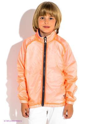 Ветровка GUESS. Цвет: оранжевый
